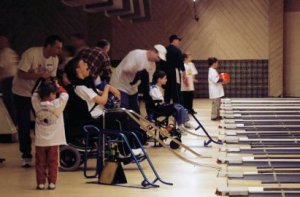 Miracle League Bowling