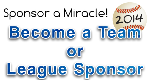 Sponsor A Miracle Banner